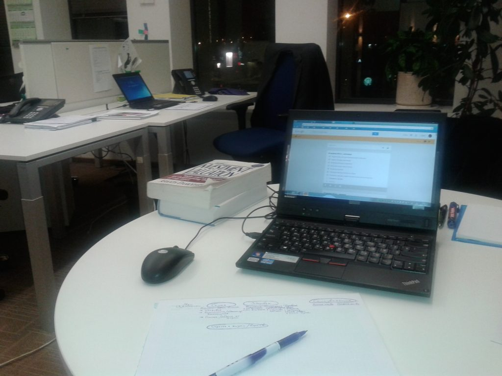 Burning midnight oil at McKinsey