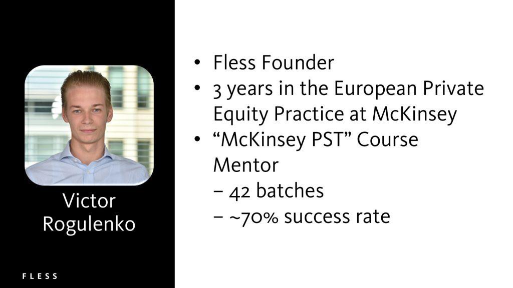 Victor Rogulenko, founder at Fless