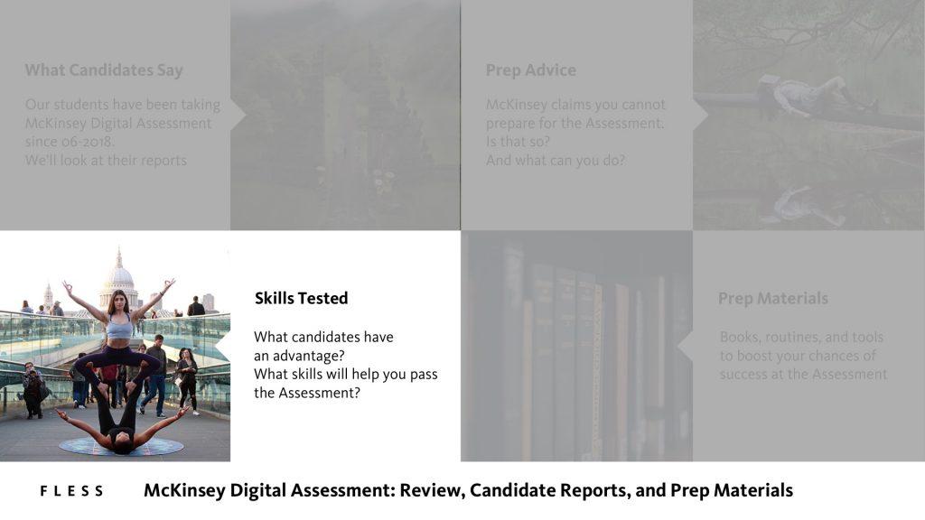 McKinsey Digital Assessment Skills Tested